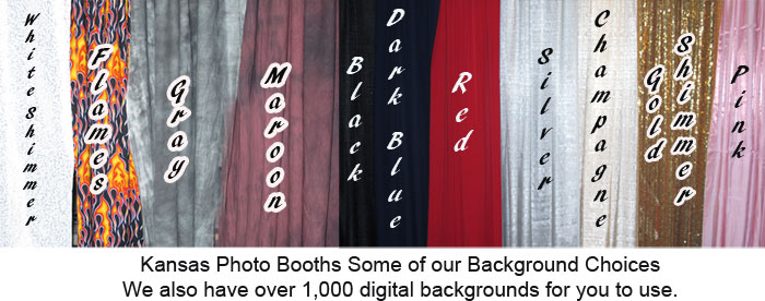 Photo Booth Background Examples