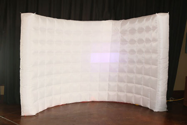 Inflatable Photo Booth Background